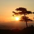 神道山のお日の出